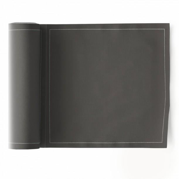 Rouleau de 25 Serviettes de Table Anthracite Mydrap