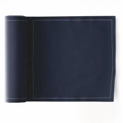 Rouleau de 25 Serviettes de Table Bleu Pétrole Mydrap