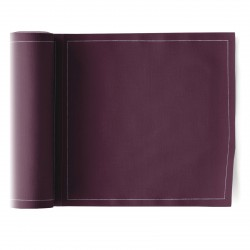 Rouleau de 25 Serviettes de Table Bordeaux Mydrap