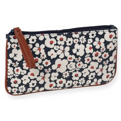 Makeup Bag Fleurs Blanches Leatherette Mr & Mrs Clynk