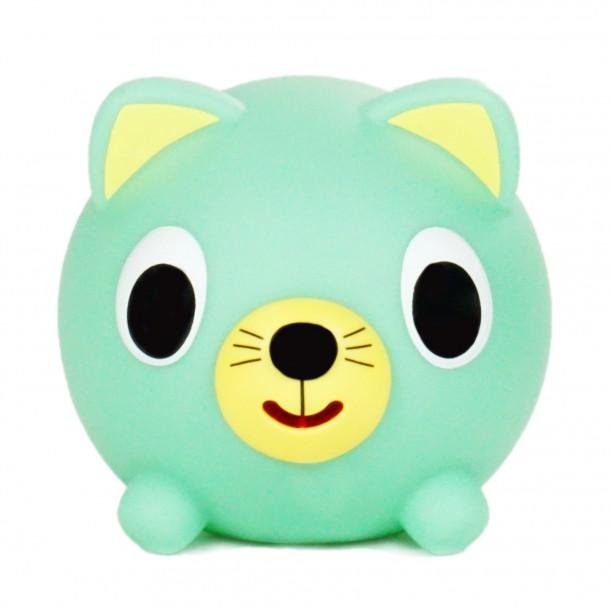 Jabber Ball Cat Green Sankyo Toys