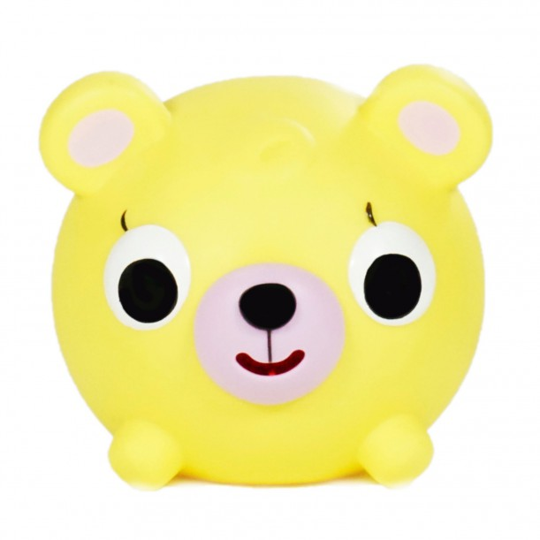 Jabber Ball Bear Yellow Sankyo Toys