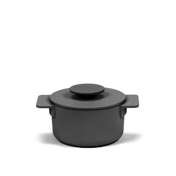 Casserole Surface Cast Iron Black D12 cm 0,5 L All fires Serax