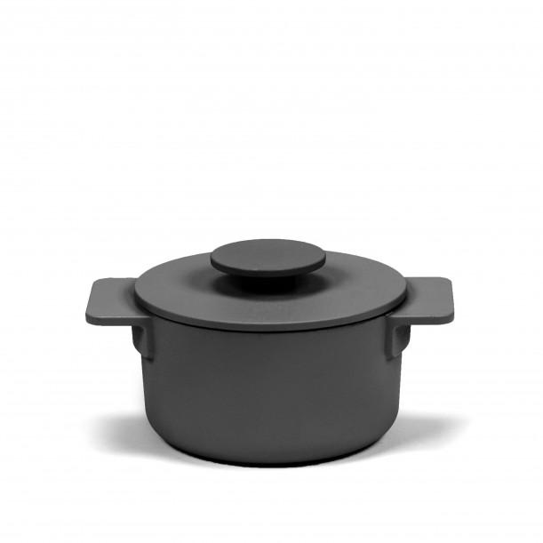 Cocotte Surface Fonte Noire D15 cm 1 L Tous Feux Serax