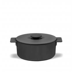 Casserole Surface Cast Iron Black D20 cm 2 L All fires Serax
