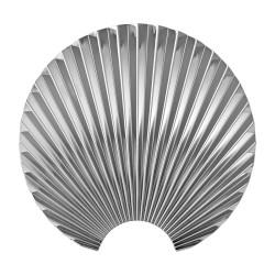 Patère Concha Silver Small Diam 16 cm AYTM