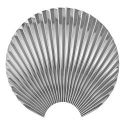 Patère Concha Silver Medium Diam 20 cm AYTM