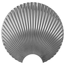 Hook Concha Silver Large Diam 24 cm AYTM