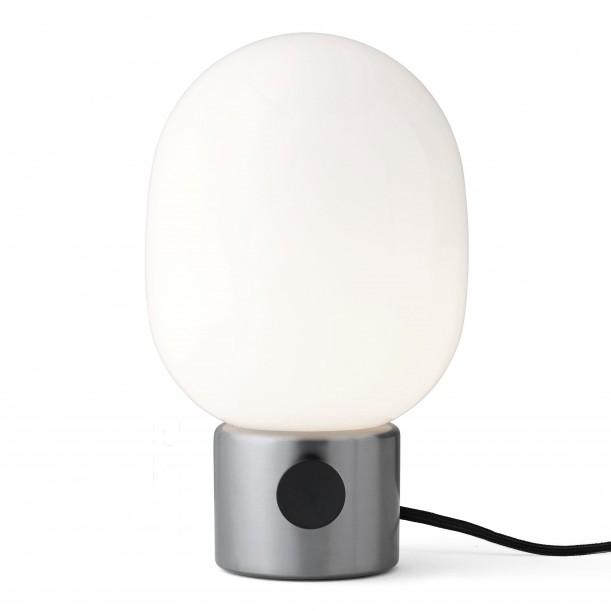Table Lamp JWDA Metallic Brushed Steel Menu