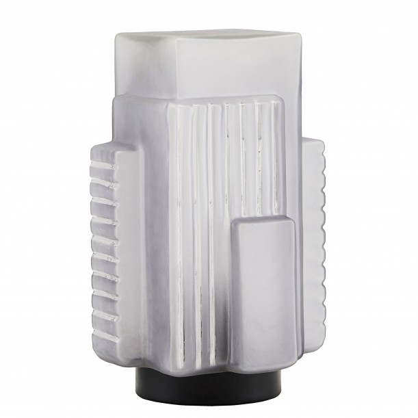 Grey Table Lamp Blocks House Doctor