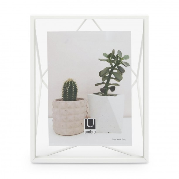 Cadre Prisma Blanc pour Photo 13 x 18 cm Umbra