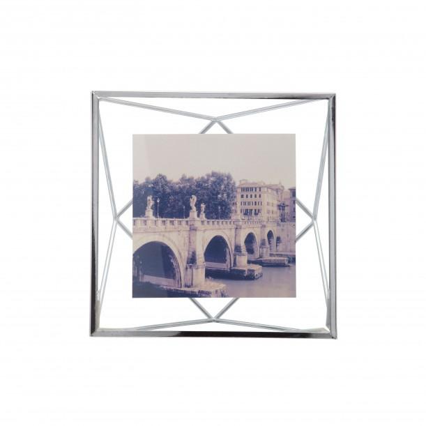 Cadre Prisma Chrome pour Photo 10 x 10 cm Umbra