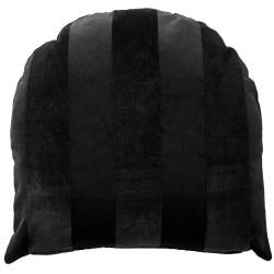 Coussin Arcus Velours Noir 50 x 50 cm AYTM