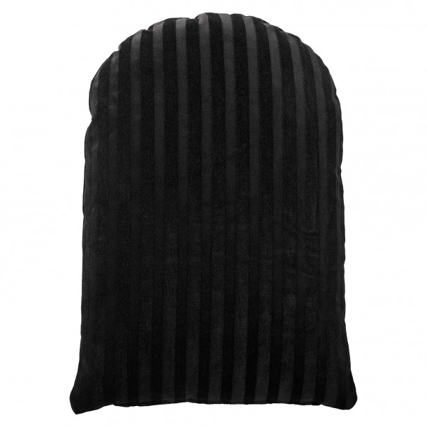 Arcus Cushion Black Velvet 60 x 40 cm AYTM