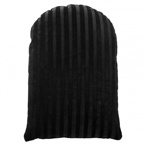 Coussin Arcus Velours Noir 60 x 40 cm AYTM