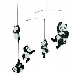 Mobile Panda Black and White Flensted Mobiles