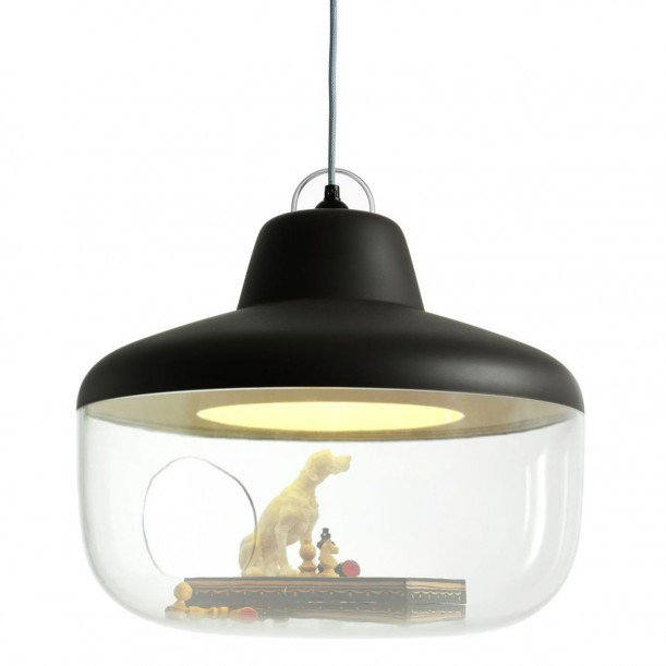Lamp Pendant Favorite Things Black Diam 45 cm by Eno