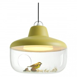 Lamp Pendant Favorite Things Yellow Diam 45 cm by Eno