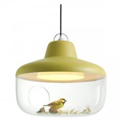 Lampe Suspension Favourite Things Jaune Diam 45 cm Eno