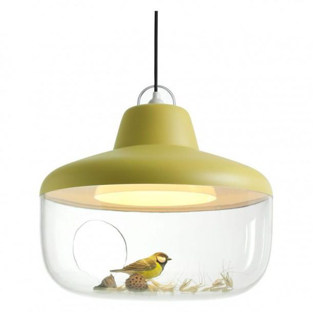 Lamp Pendant Favorite Things Yellow Diam 45 cm by Eno