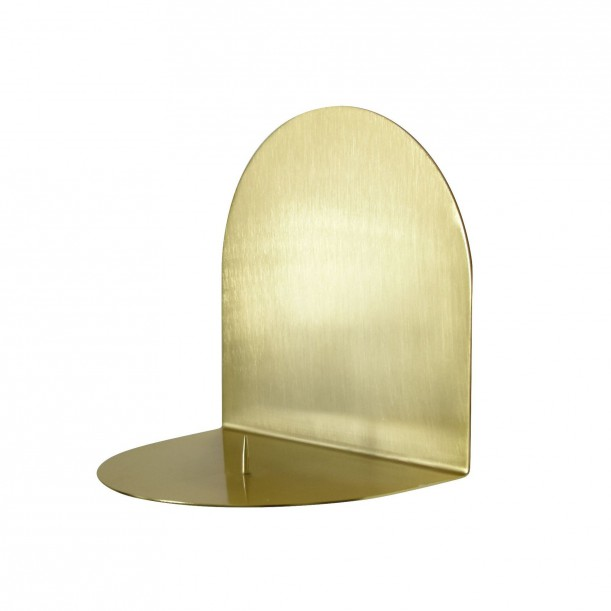 Shelf Candel Holder Archal Light Brass M 16 x 12 x 16 cm Eno