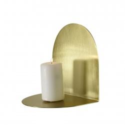 Etagère Bougeoir Archal Light Laiton M 16 x 12 x 16 cm Eno
