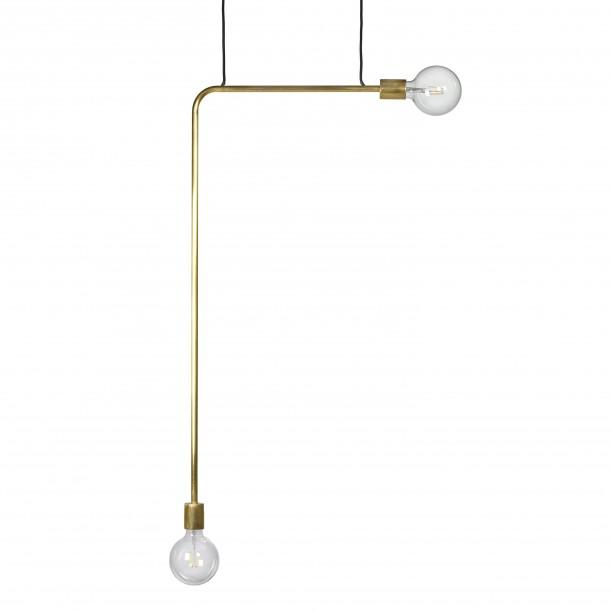 Pendant Lamp Essential KVG Hight Brass 54 x 110 cm Serax