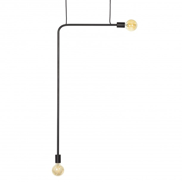 Pendant Lamp Essential KVG Hight Black 54 x 110 cm Serax