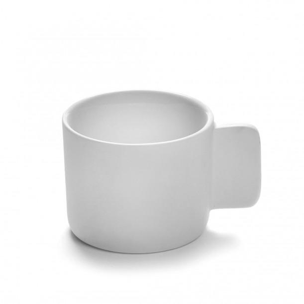 Coffee Cup HEII white porcelain Diam 7 cm Serax