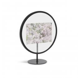 Infinity Frame Black Round for 10 x 15 cm Photo Umbra
