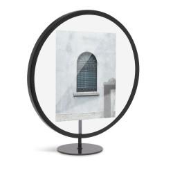 Cadre Rond Infinity Noir pour Photo 13 x 18 cm Umbra