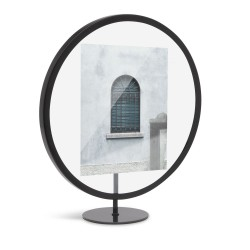 Infinity Frame Black Round for 13 x 18 cm Photo Umbra