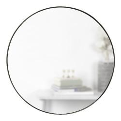 Miroir Rond Hubba Cadre Titanium Diam 86 cm Umbra