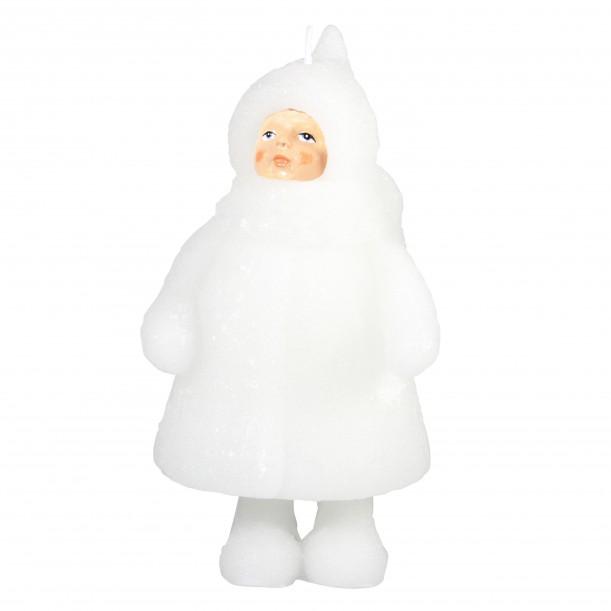 Bougie Snow Doll Open Eyes & klevering