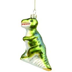 Boule de Noël Dinosaure & klevering