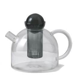 Still Teapot Clear Glass 1,5 L Ferm Living