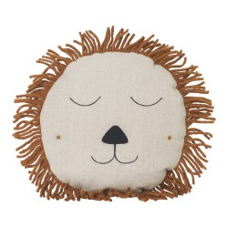 Safari Cushion Lion Natural Ferm Living