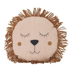 Safari Cushion Lion Dusty Rose Ferm Living