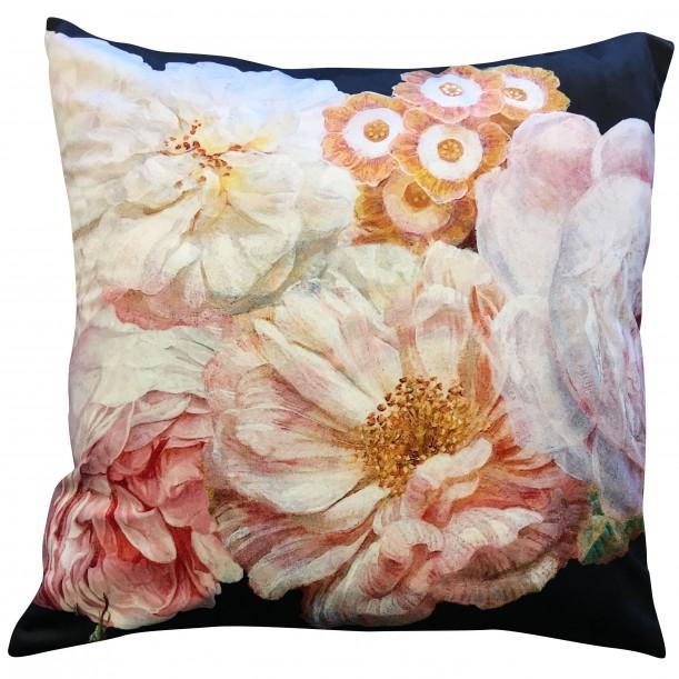 Velvet Cushion Peachrose 50 x 50 cm Vanilla Fly