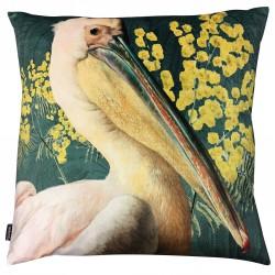 Velvet Cushion Pelican Green 50 x 50 cm Vanilla Fly