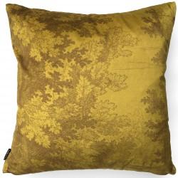 Velvet Cushion Mustard Woods 50 x 50 cm Vanilla Fly