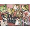 Velvet Cushion Rosa 50 x 50 cm Vanilla Fly