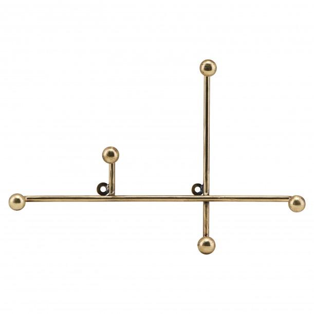 Hook Prea Brass Metal L 28 x H 18 cm House Doctor