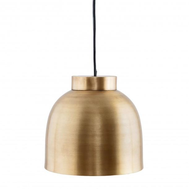 Lampe Suspension Bowl Laiton Small Diam 23 cm House Doctor