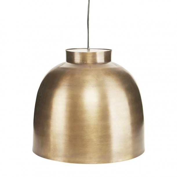 Bowl Pendant Brass Medium Diam 35 cm House Doctor