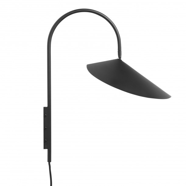 Wall Lamp Arum Black Ferm Living
