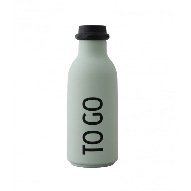 Mint Bottle To Go 0.5 Liter Design Letters