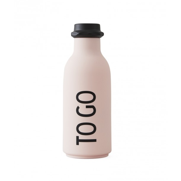 Bouteille Rose To Go 0,5 Litre Design Letters