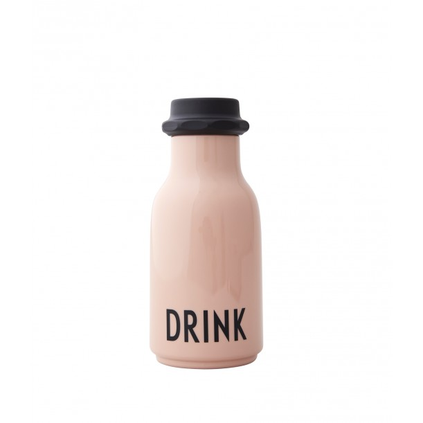 Pink Bottle Drink 0.33 Liter Design Letters