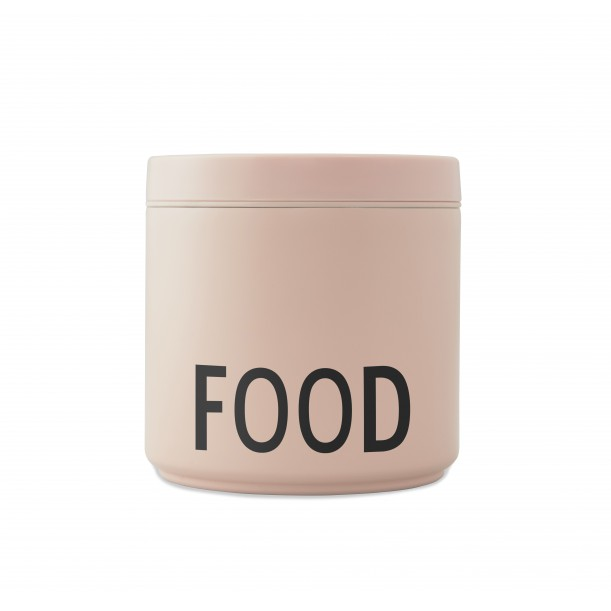 Lunch Box Thermos 530 ml Rose Design Letters